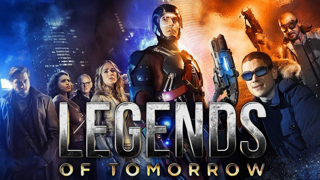 Filming on Legends of Tomorrow!